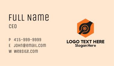 Hexagon Spanner Combination Business Card