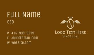 Angel Bean Halo Business Card