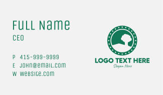 Green Tree Planting Business Card