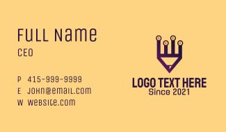 Digital Pencil Application Business Card