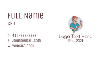 Handyman Repair Service Business Card