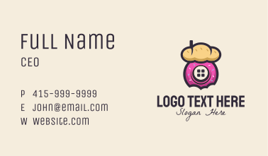 Pastry Shack Business Card