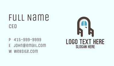 Home Furnishing Door Business Card