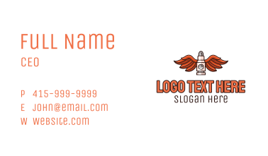 Winged Bullet Business Card