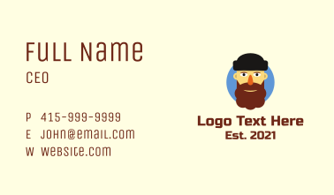 Bearded Father  Business Card