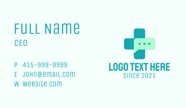 Medical Chat Business Card