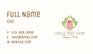 Multicolor Beauty Rose Business Card