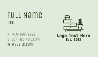 Home Furniture Design  Business Card