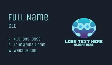 Tech Data Planet Business Card