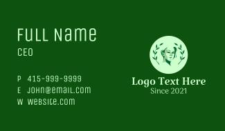 Green Leaf Lady  Business Card