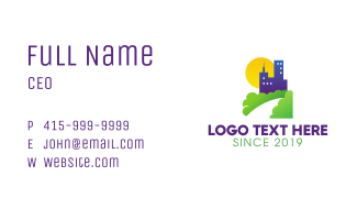 Building & Nature Business Card
