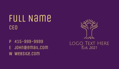 Hand Hope Tree Business Card