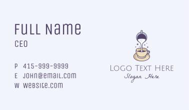 Milk Coffee Cafe Business Card