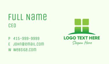Green Organic Company Business Card
