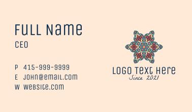 Flower Centerpiece  Business Card