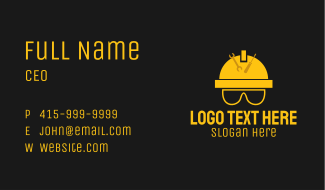 Hard Hat Tools  Business Card