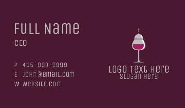 Food & Wine Business Card