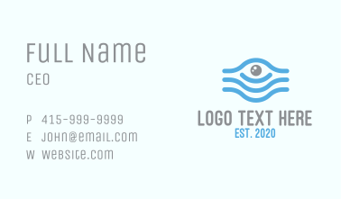 Egyptian Eye Business Card