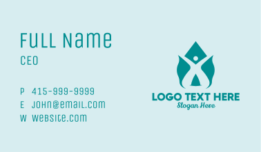 Human Disinfection Spray  Business Card