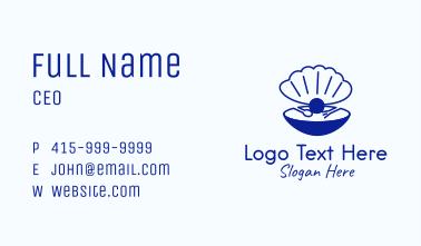 Seashell Pearl Restaurant Business Card