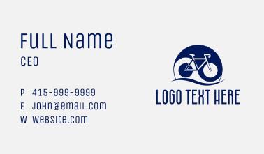 Yin Yang Bicycle  Business Card