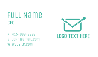 Electronic Mail Business Card