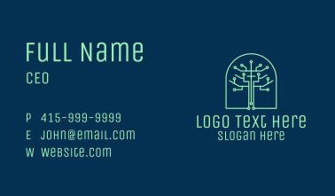 Green Tree Circuitry  Business Card