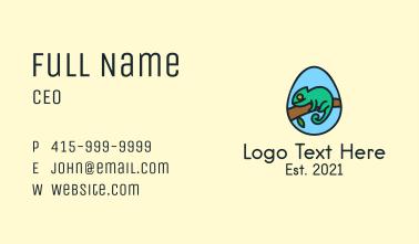 Chameleon Egg Business Card