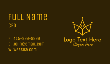 Golden Crown Realty Business Card