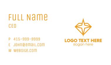 Diamond Star Business Card