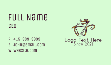 Cooking Pot Gift  Business Card