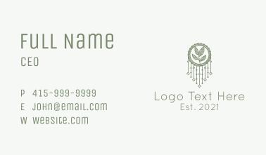 Bohemian Accessory  Business Card