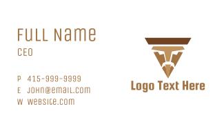 Nacho Man Business Card