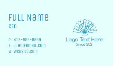 Ocean Seashell  Business Card