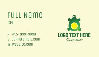 Egg Yolk Turtle  Business Card