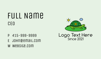 Turtle House  Business Card