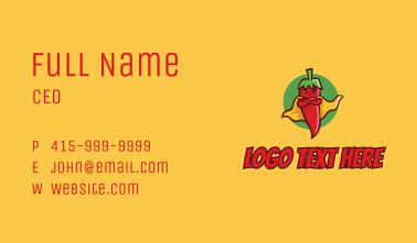 Super Spicy Pepper  Business Card
