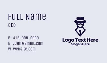 Detective Pen Business Card