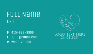 High Heels Shoe Lover  Business Card