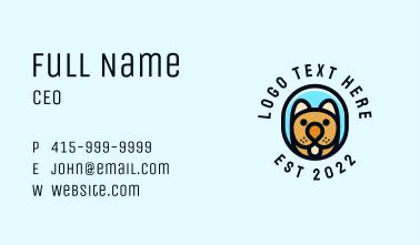 Terrier Pet Dog  Business Card