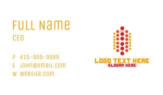 Modern Dots Business Card