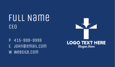 Holy Angel Wings  Business Card