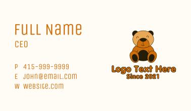 Smiling Teddy Bear Business Card