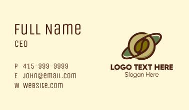 Coffee Bean Planet  Business Card