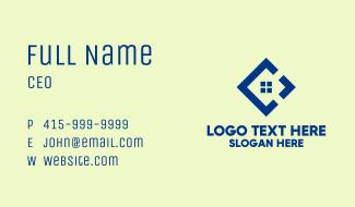 Tech Window Diamond Business Card