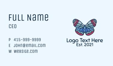 Fancy Butterfly Garden Business Card