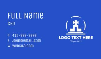 Religious Shrine Business Card