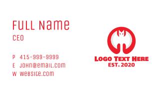 Red Bat Axe Business Card