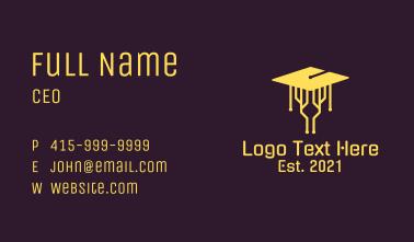 Cyber Graduation  Business Card