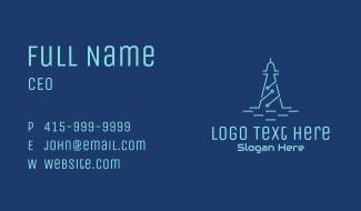 Circuit Tower Tech Business Card